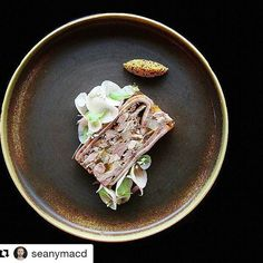 #Repost @seanymacd ・・・ Head Cheese, Pickled Pear, Pine Nut & Roasted Cabbage  @marketcalgary  #food #foodporn #foodie #foodgasm #foodstagram #foodgram #instafood #foodpics #foodpic #gastronomia #gastronomy #gourmet #gastropost #gastroart #art #plating #finedining #luxury #delicious #yummy #instagood #culinary #igers  #chef #finedining #dining #instahub #foodart #followme #calgary