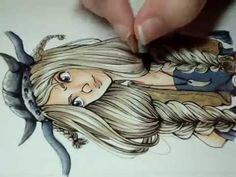 Copic Marker Illustration: Ruffnut HTTYD - YouTube