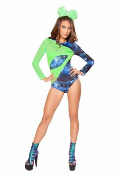 ROMA 2PC ALIEN BABE PARTY COSTUME #Roma #party