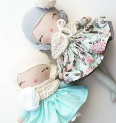 "95 Likes, 7 Comments - SpunCandy Dolls ~ Omaha, NE (@spuncandydolls) on Instagram: ""SOLD..Two more lovely ladies in the etsy shop tonight! ❄#spuncandydolls #handmadedolls…"""
