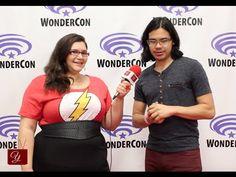 INTERVIEW: The Flash star Carlos Valdes (Cisco) - WonderCon 2015 -via yael.tv