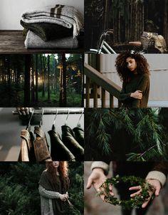middle earth aesthetics | ladies of fangorn