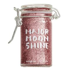 Women's Major Moonshine Glitter Hair Gel ($28) ❤ liked on Polyvore featuring beauty products, haircare, beauty, fillers, fillers - pink, hair, image and cotton candy