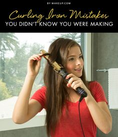 Heat can be damaging to your hair, but if you're using your curling iron wrong it can be even MORE damaging! Here's how to make sure you're using this beauty tool the right way.