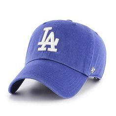new product 9b75a 26812 Los Angeles Dodgers 47 Brand Women s Blue Home Clean Up Adjustable Hat