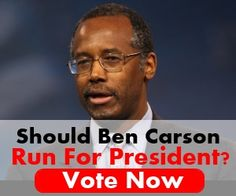 Should Ben Carson Run for President? Such a clear, balanced, wise thinker. Watch this clip on presidency and advisers.