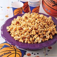 Courtside Caramel Corn Recipe from Taste of Home