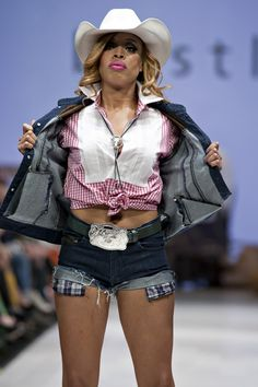 Bustle - Stacey McKenzie rocking the rodeo.