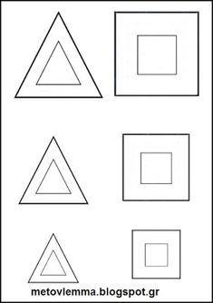 Geometry, Triangle, Shapes, Math, Blog, Cards, Activities, Math Resources, Blogging
