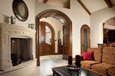 arched doorways | We've Always Liked Arched Doorways