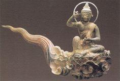 Cloud memorial Bodhisattva - Byodoin Temple -04