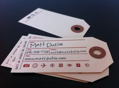 New business card idea?
