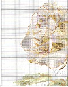 Schema di ricamo fata giardino delle rose (Alice) 1 Da 4