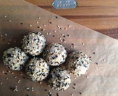 Sesame Almond Rice Balls