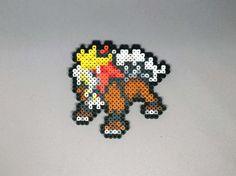 Raikou Entei Suicune Pokemon Perler Bead by MIZGVUSdesigns