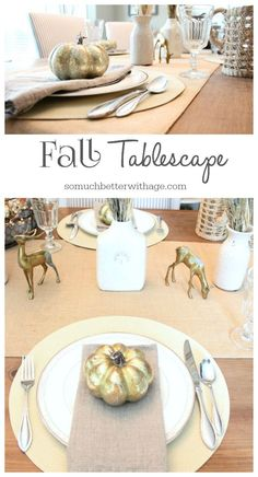 5 Bloggers' Fall Tablescapes   So Much Better With Age