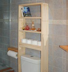 60 trendy bathroom storage ideas over toilet design Bathroom Wood Shelves, Shelves Above Toilet, Bathroom Storage, Small Bathroom, Bathroom Organization, Design Bathroom, Bathroom Ideas, Bathroom Art, Kitchen Shelves