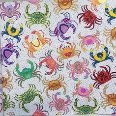 """""""可愛的小螃蟹!#colouring  #lostocean  #迷失海洋  #lostoceancoloringbook  #mycreativespace#johannabasford"""""""