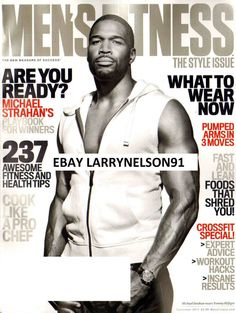 Health & Fitness Monthly Magazine Back Issues Mens Fitness Magazine, Men's Fitness, Health Fitness, Michael Strahan, Now Magazine, Sexy Men, Sexy Guys, September 2014, Famous Faces