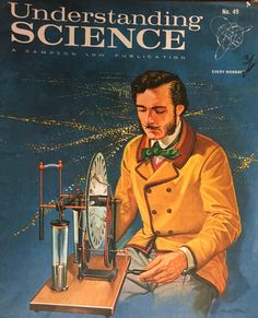 Magazine from the 60's illustrating Science.