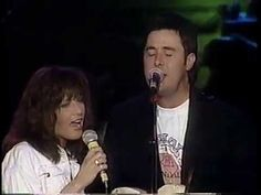 Vince Gill and Andria Zahn 1991 @ the Grand ole Opry Country Western Singers, Country Music, Patty Loveless, I Call Your Name, Vince Gill, Ring True, Music Videos, Names, Album