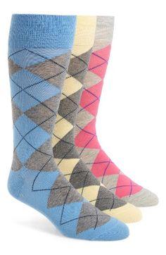 Polo Ralph Lauren 3-Pack Argyle Socks | Nordstrom