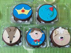 Bombons de cupcake Pequeno Príncipe