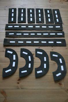 DIY: Cardboard Road Way Play! - The Imagination Tree
