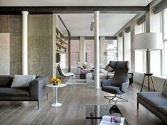 Diseño de Interiores & Arquitectura: Elegante Loft con un Interior Elegante y con Estilo