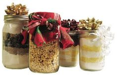 Making Homemade Gifts in a Jar