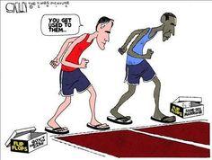A flip-flop race...