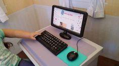 Desktop Computer | 39 American Girl Doll DIYs That Won't Break The Bank
