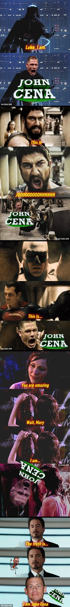 5 Epic Movie Scenes Would Have Gone Terribly Wrong If Their True Identity Is... JOHN CENA!