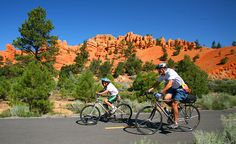 "Come with us for a Family Multisport Adventure of a lifetime, through a National Park ""Triple Crown"" with Backroads. You and your gang can witness astonishing rock formations in Bryce, starry night skies of the Grand Canyon and splash your way through the Narrows in Zion. Wow! https://www.backroads.com/trips/MBGCF?p=D546 #canyons #familyvacation #mybackroadstrip"