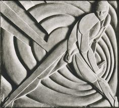 The Discus Thrower - J.J. Adnet c1925, Paris. #ArtDeco #GalerieSeru