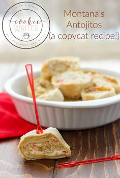 Here is a copycat recipe for Montana's Antojitos! Full of cheesy goodness, these make the perfect little appetizer! Mexican Food Recipes, Vegetarian Recipes, Cooking Recipes, Bread Recipes, Protein Snacks, Appetizers For Party, Appetizer Recipes, Zucchini, Gluten Free Puff Pastry