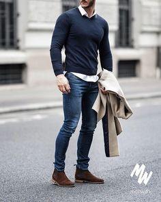 Men Winter Fashion 555772410264119239 - 9 Astounding Tips: Urban Fashion Runway Dresses urban wear women pants.Urban Fashion Photography Tim Walker u. Mode Outfits, Urban Outfits, Casual Outfits, Casual Attire, Urban Dresses, Casual Clothes, Dress Casual, Sweater Outfits, Classy Outfits