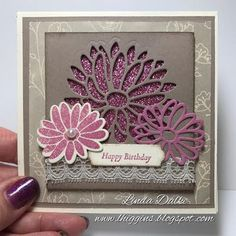 Video Tutorial: Vintage card with Special Reason and Glimmer paper! | Linda Higgins | Bloglovin'
