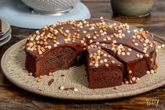 Mijn eerste chocoladetaart Chocolate Dreams, Piece Of Cakes, Baked Goods, Baking Recipes, Cheesecake, Pudding, Cooking, Desserts, Sweet Stuff