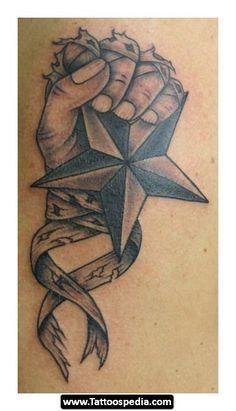 Nautical%20Star%20Tattoos 04 Nautical Star Tattoo Design Ideas 04