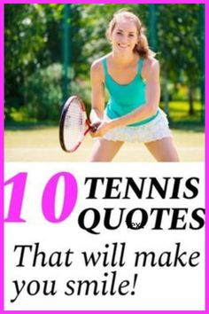 Tennis quotes can be used to inspire and motivate tennis players and teams. Read these tennis quotes before your next practice or tennis match to pump you up. Tennis Lessons, Tennis Tips, Sport Tennis, Tennis Techniques, How To Play Tennis, Tennis Funny, Tennis Equipment, Tennis Workout, Tennis Quotes