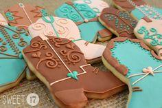 Cowboy Boot Sugar cookies Sweet17Cookies.Etsy.com