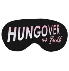 There's no use in denying it with this Hungover As F*ck Sleep Mask! For the hard-partying bachelorette and her whole crew, these masks make fabulous favors or party prizes! Bachelorette Party Scavenger Hunt, Bachelorette Party Favors, Scavenger Hunt Games, Party Prizes, White Ombre, Sleep Mask, Masks, Pink, Pink Hair