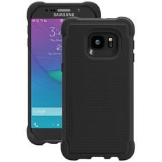Ballistic Case Co. Samsung Galaxy S 6 edge+ Tough Jacket Case (Black) Electronic Gifts, Internet Radio, Electronics Gadgets, Samsung Galaxy S6, Cell Phone Cases, Cell Phone Accessories, Iphone, Jacket, Black