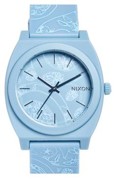 Nixon 'The Time Teller' Paisley Print Watch, 40mm | Nordstrom