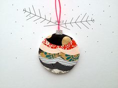 Original Paper Ornament by essimar on Etsy