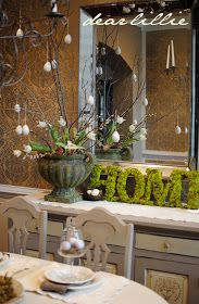 Dear Lillie: Some More Easter Decorating, Egg Tutorial, Thank You Fifi, and The Final Four