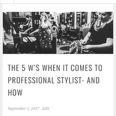 Reposting @azhairdoctor: Hot off the press 💚💚💚 Check out the latest blog post at AzHairDoctor.wordpress.com 💚💚💚 #blog #stylistblog #blogger #howro #guide