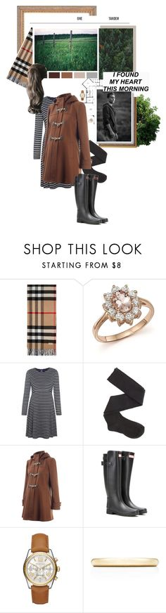 """""""Pandora; I found my heart this morning"""" by tcpg-pandora ❤ liked on Polyvore featuring Burberry, Bloomingdale's, Séraphine, Charlotte Russe, Isabella Oliver, Hunter, Michael Kors and Tiffany & Co."""