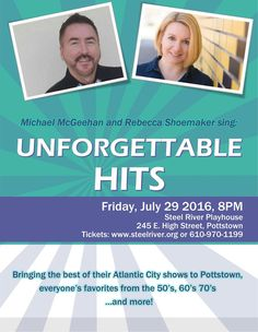 Atlantic City came to the Philadelphia area last night and it was a rare treat. Those who primarily know Rebecca Shoemaker and Michael McGeehan from their videos from Caesar's Palace or their CDs or music videos, finally got to see what all the excitement was about, without the trip to the shore. They were hosted …